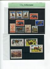 14 PCS MIXED DEER/ANIMALS STAMPS MINT.USED # T015