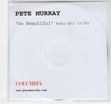 (EC255) Pete Murray, So Beautiful - DJ CD