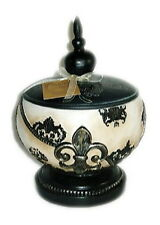 CANDLE TERRACOTTA BALL VOTIVE w/ Soy Wax