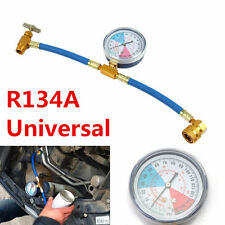 R134A Recharge Measuring Hose Gauge Adapter Car A/C Refrigerant Refill Pipe New