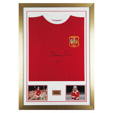 Signed Denis Law Man Utd 1963 Cup Final Shirt Manchester United PROOF and COA