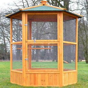 Zooprinz XXL Vogelvoliere Maxi 308 Vogelkäfig Vogelhaus Vogel Käfig Sitzstangen