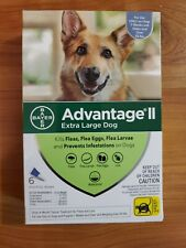 Bayer Advantage II Extra Large For Dogs Over 55 lbs, 6 Doses
