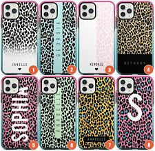 Personalised Name Leopard Prints Impact Phone Case for iPhone | Animal Print Cus