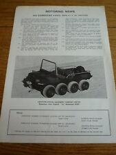 Cargocat ATV da Crayford sviluppi BROCHURE JM