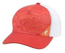 Simms Five Panel Trucker Hat ~ Block Print Scarlet NEW ~ CLOSEOUT