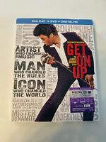 Get on Up w/ Slipcover (Bluray/DVD, 2014) [BUY 2 GET 1]