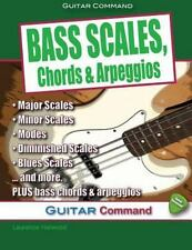 Bass Scales, Chords and Arpeggios: By Harwood, Laurence Wright, Dan
