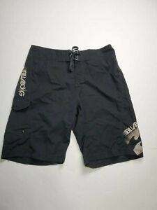 Billabong Platinum X Board Shorts Black Cargk Pocket Men's Size 31 EUC
