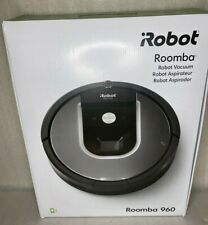 iRobot Roomba 960 Robot Vacuum Cleaner w/ Wifi Connectivity - Black & Grey