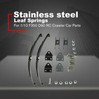 1/10 Leaf Springs Set HighLift Chassis For 1/10 F350 D90 RC Crawler Car Parts }