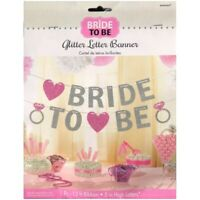 Bridal Shower Decorations Bride To Be Hanging Banner Bunting Wedding Engagement