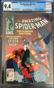 AMAZING SPIDER-MAN #252 CGC 9.4! First Black Suit!  No Reserve!