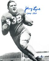 JOHNNY LUJACK SIGNED AUTOGRAPHED 8x10 PHOTO + CHOF 1960 NOTRE DAME BECKETT BAS