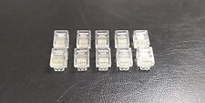 10 PACK - RJ11 Plugs 6 Core - 6P2C 6P4C 6P6C for Telecom and ADSL VDSL Cable