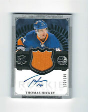 THOMAS HICKEY 13/14 THE CUP RC AUTO JERSEY PATCH #D /249 NY ISLANDERS