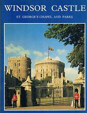 Windsor Castle: St. George's Chapel & Parks Color Illustrated Mapped 1987 PB