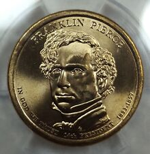 2010-D ANACS MS68 SUPERB GEM BU FRANKLIN PIERCE DOLLAR SOLO FINEST POP 1 4913630