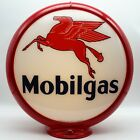 """MOBILGAS 13.5"""" Gas Pump Globe - SHIPS FULLY ASSEMBLED! READY FOR YOUR PUMP!!"""
