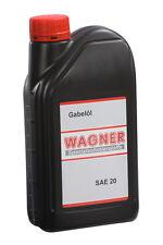 1 Liter WAGNER Gabelöl SAE 20 Stoßdämpferöl Teleskopgabelöl mineralisch