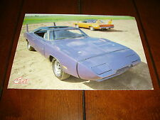 1969 DODGE DAYTONA 440 SIX PACK PLUM CRAZY  ***ORIGINAL 1986 ARTICLE***