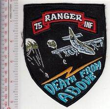 Ranger US Army 75th Airborne Infantry Ranger Regiment ''Death From Above'' Patch