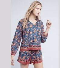 Anthropologie Ione Printed Top By Nancy Martin Sz Small  $88