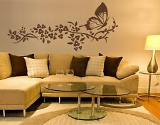 Butterfly Flight - Highest Quality Wall Decal Sticker