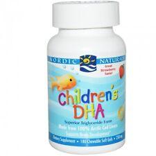 Children's DHA, Strawberry, 180 Chewable Soft Gels - Nordic Naturals