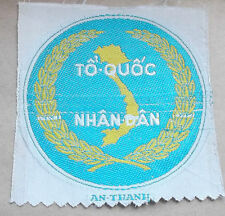 """""""TO QUOC NHAN DAN""""  ARVN  woven silk cloth patch"""