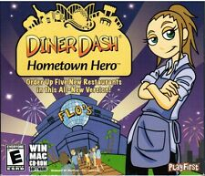 Diner Dash Hometown Hero PlayFirst Windows Mac 2007 Simulation PC Video Game