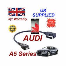 AUDI A5 4F0051510M Cable para LG Optimus Series G conexión de audio USB Micro