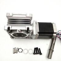 Ratio 20:1 Worm Gear Stepper Motor NMRV030 NEMA23 Gearbox High Torque CNC