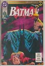 DC Comics Batman #493 Late May 1993 Knightfall NM