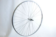 "27x1 1/4"" REAR  MULTI-SPEED RACING BIKE  WHEEL WITH ALLOY POLISHED ""CHROME LOOK"""