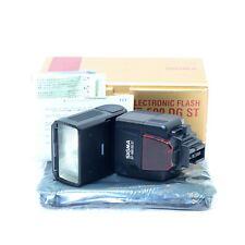 SIGMA Flash EF-500 DG ST Electronic for MINOLTA AF D, TESTED, EXCELLENT A++