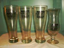 1 Dick's Last Resort Big Ass Beer Glass, 2 Pilsner Glasses & 1 Hurricane Dallas