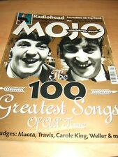 Mojo Magazine issue 81 Aug 2000 features the 100 Greatest song of all time