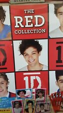 ONE DIRECTION THE RED COLLECTION STICKER ALBUM (EMPTY)