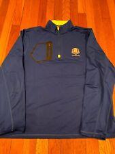 Masters Golf Ryder Cup Hazeltine RLX Ralph Lauren 1/4 Zip Sweater Large