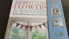 Simple Sewing Kit To Create Stylish Fabric Flowers & Banners by Craft Corner