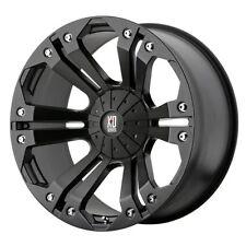 "XD Series by KMC Wheels XD778 Monster Matte Black Wheel (20x10""/6x135, 139.7mm,"