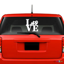 Love Keeshond Windshield Sticker Vinyl Auto Window park kees