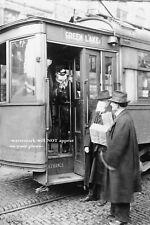 1918 Flu PHOTO Street Car Refusal Pandemic Spanish Flu Seattle Washington