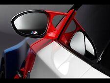 2x BMW M tec Side mirror glass sticker decal logo F10 F20 F30 F01 E70 E90 E71