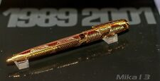 DUPONT AFRICA LIMITED EDITION GOLD/ONYX BALLPOINT PEN #151/1000
