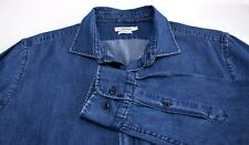 J.LINDEBERG Men Slim Fit Casual Denim Shirt Size L AMZ825