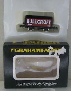 Graham Farish N Gauge 2113 10T Red 7 Plank Wagon 9471 Bullcroft Unused