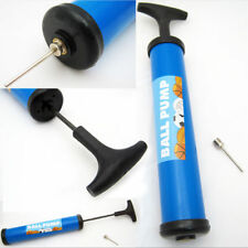 New Hand Air Pump with Needle Ball Party Balloon Soccer Basketball Inflator Save