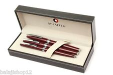 Sheaffer Sagaris Gloss Wine Fountain ,Rollerball, Ballpoint pen Set New